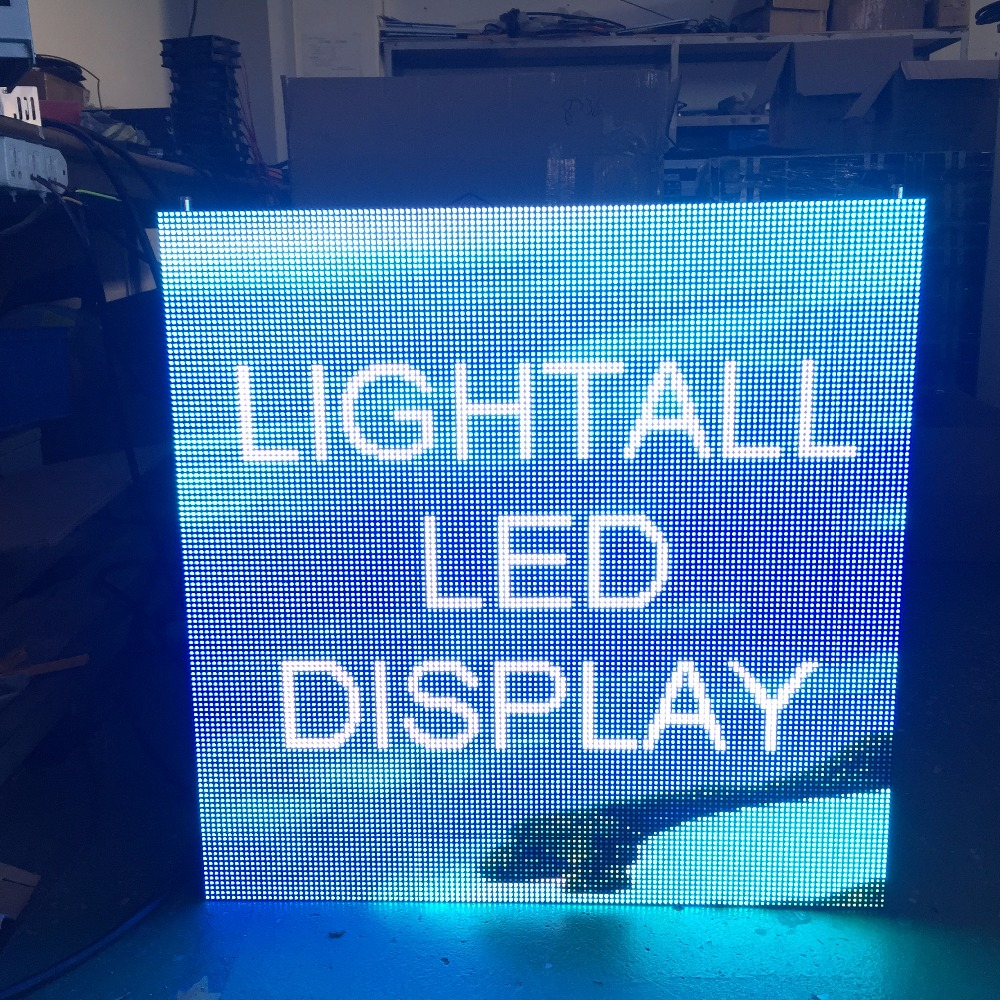 192X192mm 32X32 Pixels 1/16 Scan SMD3528 RGB Full Color P6 Led Module For Indoor Led Screen High Quality LED Panel Video Wall