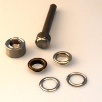 Setting tool for 20mm (inside) brass metal eyelets grommet