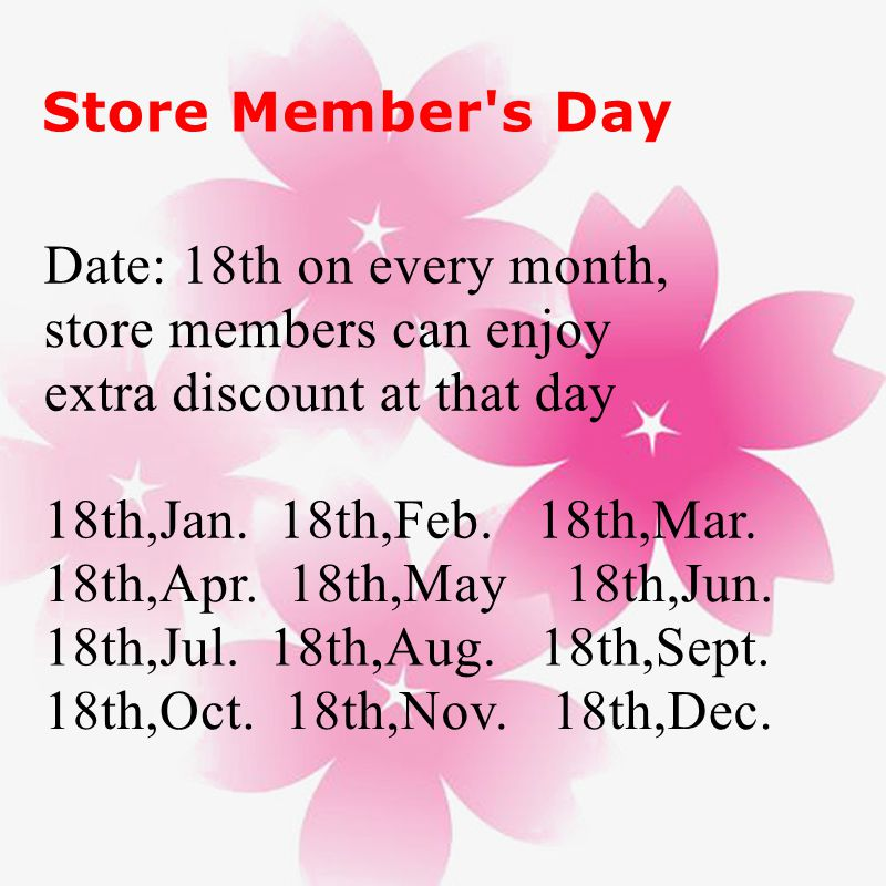 store member's day