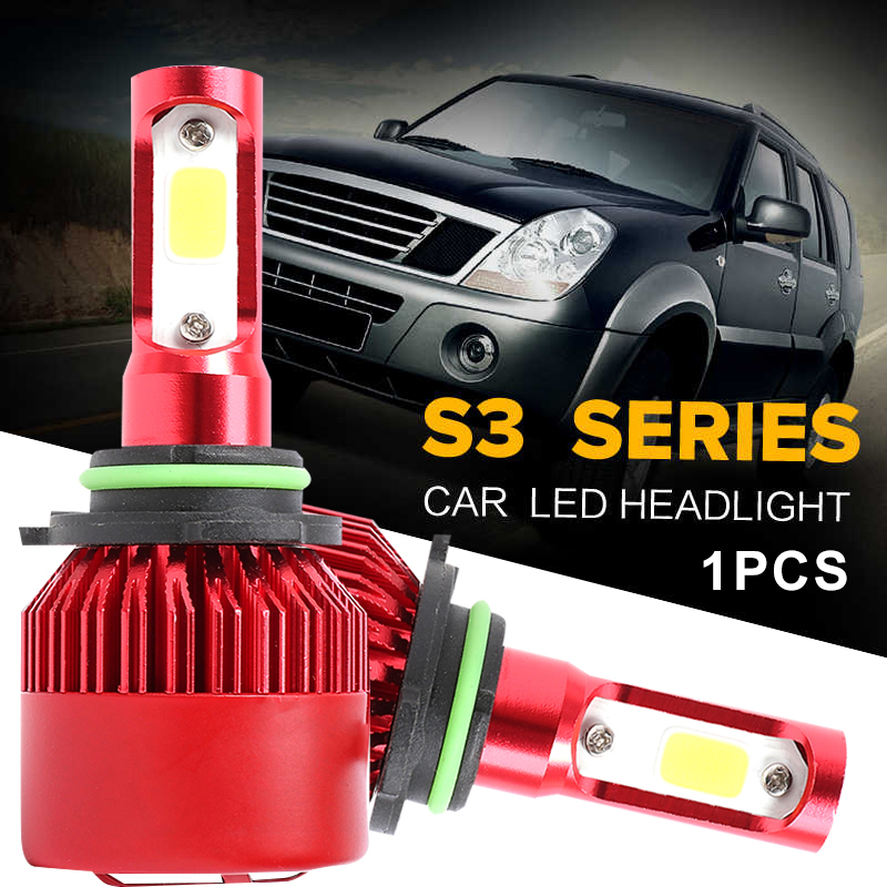 Front Lamp 8000LM LED Headlight LED Fog Light Car Styling Replacement High Power Lighting Assembly Automobile