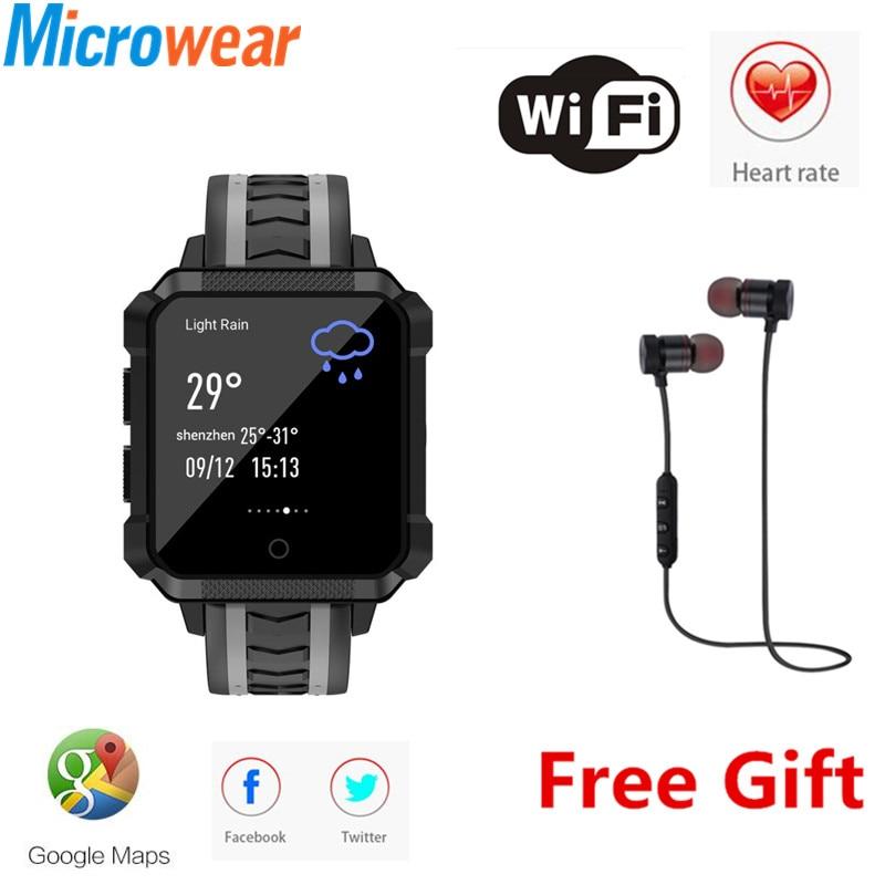 H7 IP68 Sport Watch Smart Watch Men Waterproof GPS Smartwatch Android Smart Watch 4G Smartwatch Waterproof Message Call Reminder