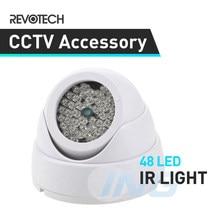 48 luz infravermelha do iluminador do cctv do ir da visão noturna do diodo emissor de luz para a câmera do cctv da vigilância