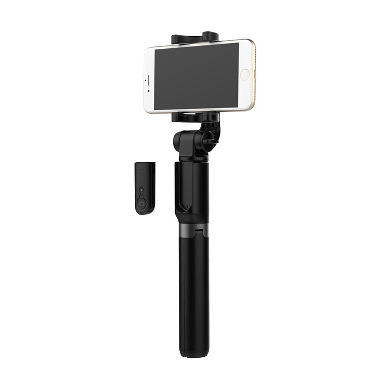 Updated 90cm Selfie stick 3 in 1 Cell Phone Self Stick Tripod Monopod Phone Bluetooth Selfie Stick for iphone xs max samsung s8
