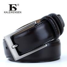 Высокое качество Коускин Пояса из натуральной кожи Для мужчин S Ремни известная марка класса люкс мужской кожаный ремень человек Модельер ремни для мужчин LJ033