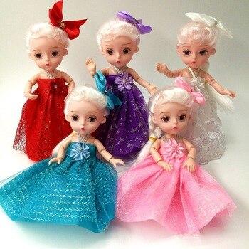 3D Simulation Eyes Dolls BJD Jointed Doll Girls' Birthday Gift Car Decoration Fashion Princess lol reborn Baby Toys - discount item  25% OFF Dolls & Accessories