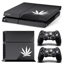 Newest Cheap Price Good Quality Design Vinyl Decal Protector Cover for PS4 Console