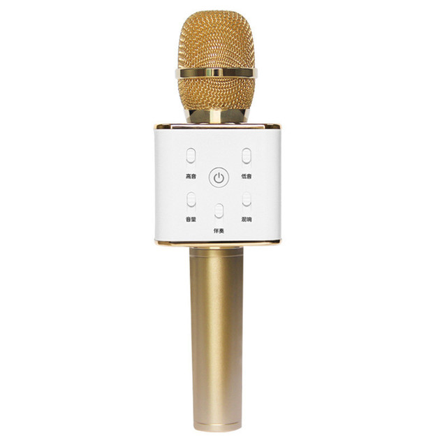 New Arrival Wireless Microphone Home Party KTV Sing karaoke OK Bluetooth Q7 For IPhones Samsung  Android Smartphones Computer