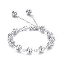 new arrive Beautiful bracelet noble top pretty fashion Wedding Party Silver cute fox lady nice Ball women bracelet jewelry