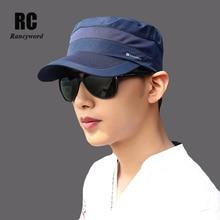 купить [Rancyword] Quick Dry Branded Baseball Caps Men 2017 New Summer Dad Hats Snapback Cap Sports Foldable Hat Bone RC1128 по цене 601.17 рублей
