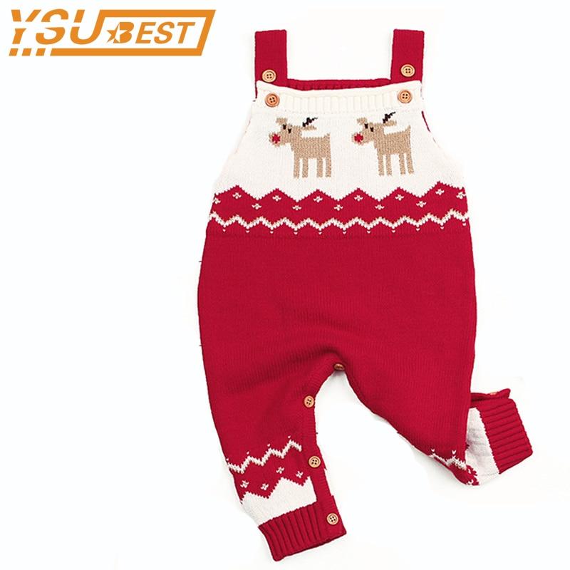 Baby Boys Girls One Piece Jumpsuits Christmas Costume For Kids Sleeveless Newborn Children Rompers Onesie Autumn Winter Outwear