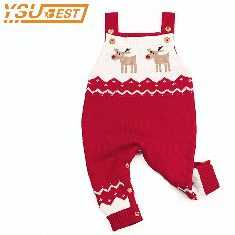 Baby Boys Girls One Piece Jumpsuits Christmas Costume For Kids Sleeveless Newborn Children Rompers Onesie Autumn Winter Outwear цена 2017