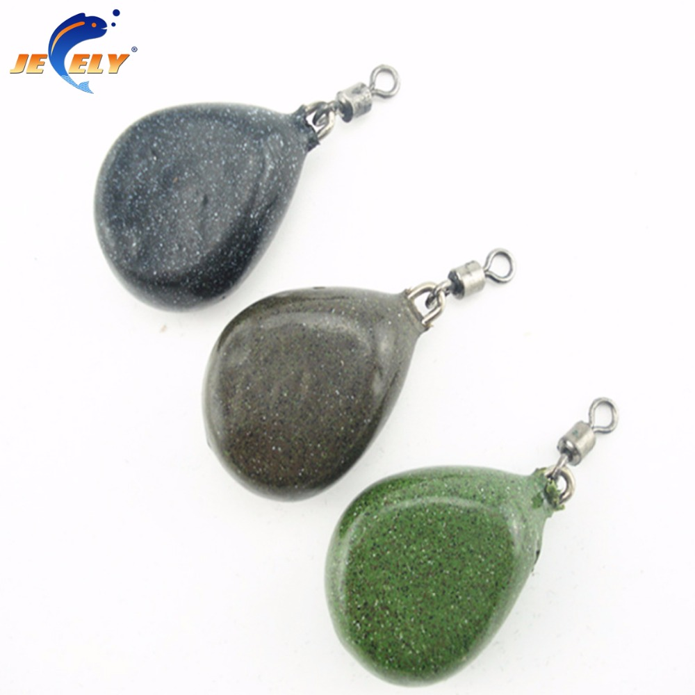 Jeely 57g Carp Fishing Weight Lead Sinker Terminal Tackle 2PCS/LOT ...