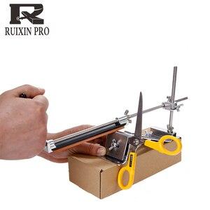 Image 3 - Yeni sürüm bıçak kalemtıraş Profesyonel Mutfak Bıçak Bileyici Bileme Fix Sabit Açı taşlar ile