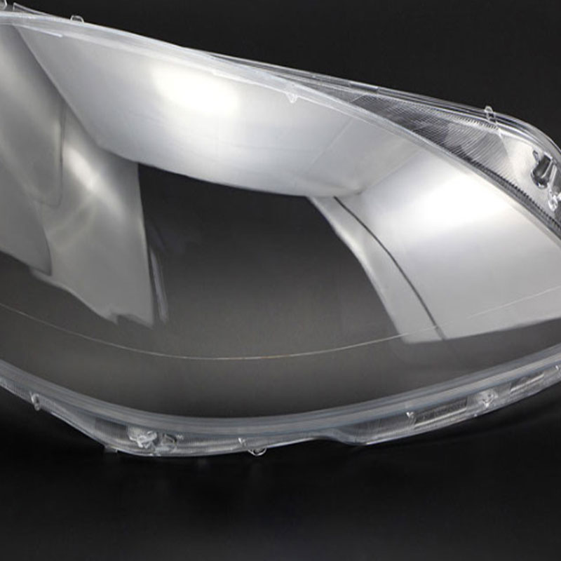 For Mercedes Benz w221 Front headlights headlights glass mask lamp cover transparent shell lamp masks S280 S300 S350 2010 2013 in Lamp Hoods from Automobiles Motorcycles