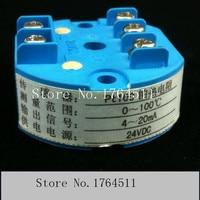 [BELLA] SBWZ2460 Pt100 temperature transmitter module anti jamming 4 ~ 20ma 0 ~ 100 3pcs/lot