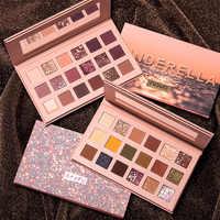O.TWO.O Beauty Glazed Makeup Gorgeous Me Eyeshadow Palette 18Color Makeup Palette Charming Eyeshadow Pigmented Eye Shadow Powder