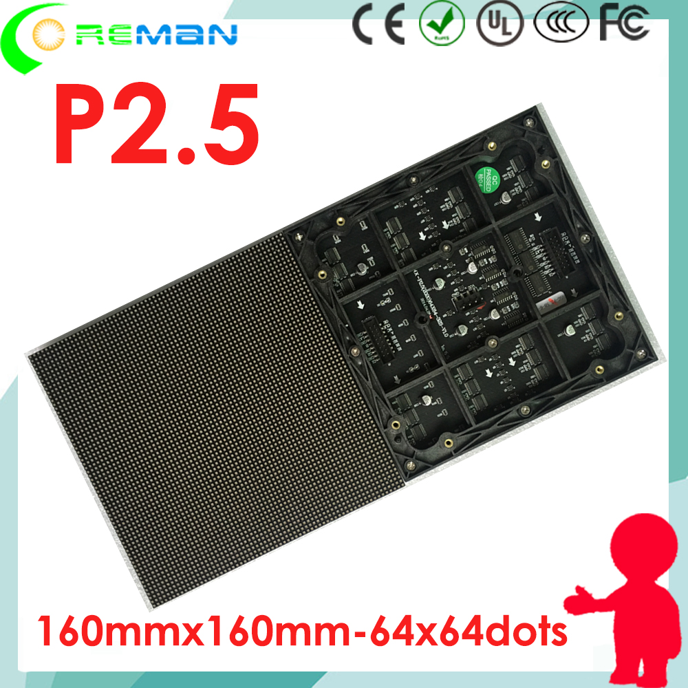 best selling products free shipping alibaba  led matrix module p2.5 rgb full color , factory price rgb  matrix led 64x64 p2.5 p1-in LED Displays from Electronic Components & Supplies