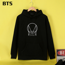BTS Skrillex Hoodies Mulheres Hot Sale Elastic Korean Sweatshirt Women High Quality Global Sales Hoodie Sweatshirt Long Sleeve