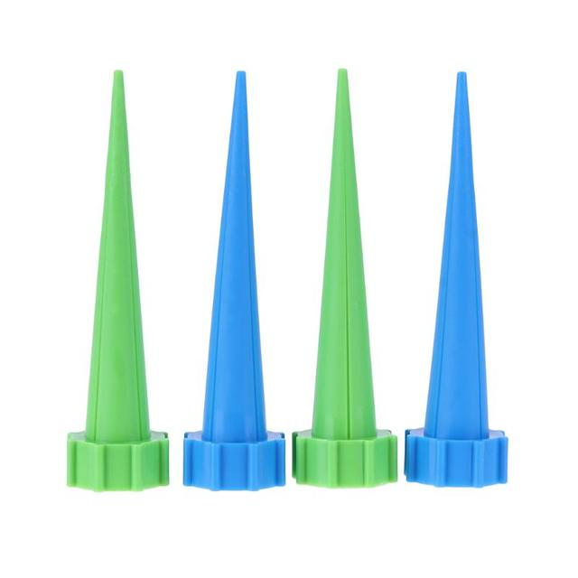 Attrayant 4 PCS Automatic Garden Cone Watering Irrigation Houseplant Spikes Flower  Potted Plant Waterers Garden Cone Watering