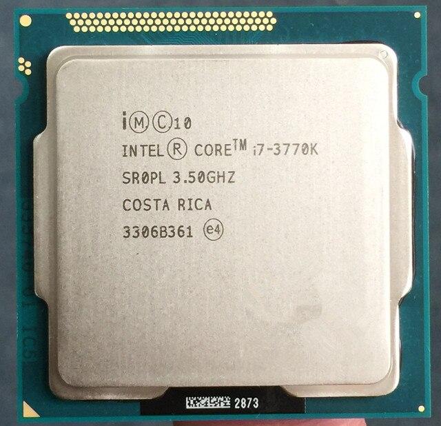 I7 3770 К Quad Core в ИСПОЛНЕНИИ LGA 1155 3.5 ГГц 8 МБ Кэш С HD Графический 4000 TDP 77 Вт Рабочего Стола ПРОЦЕССОР