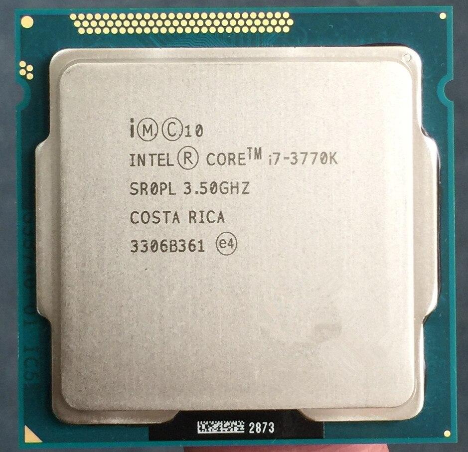 I7 3770 K Quad Core LGA 1155 3.5 GHz 8 MB Cache Avec HD Graphique 4000 TDP 77 W De Bureau d'occasion  Livré partout en France