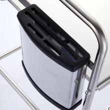 Multi-function Kitchen Storage Organizer Rack Microwave Knife Holder Block Multifunctional Kitchen Shelf Plastic Storage Rack