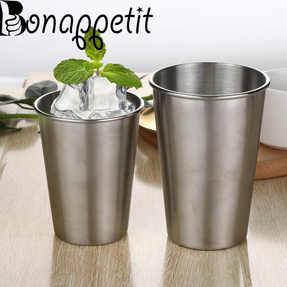 Modest 4pcs Stainless Steel Cover Mug Camping Cup Mug Drinking Coffee Tea Beer With Case Ideal For Camping Holiday Picnic Hot Sale 2019 Official Camping & Hiking
