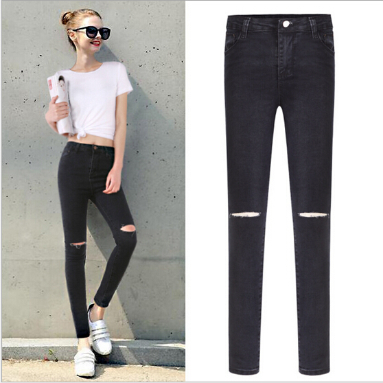Aliexpress.com : Buy 2015 Fall large size women fat jeans The new ...