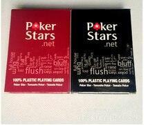 1 набор пластиковых игральных карт Техасского холдема, карты для игры в покер, водонепроницаемые и тусклые полированные карты для покера, зв...