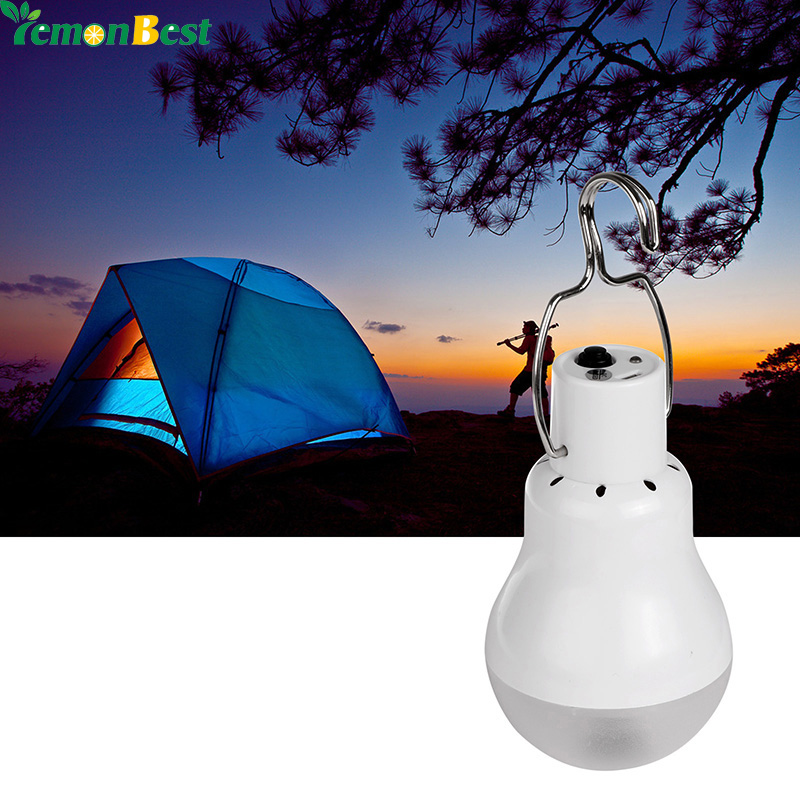 Solar Led Camping Tent Light Rechargeable Night Lamp Lantern For Outdoor Hiking Cool White In Portable Lanterns From Lights Lighting On Aliexpress