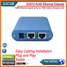 EA512-RJ45  ethernet extender  to 1500 meters through Cat 5/5e