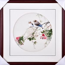 Suzhou finished product pure manual 4 silk high-quality sitting room porch Embroidery Painting
