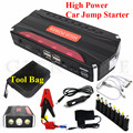 A++ Quality 12V Car Potrtable 12000mAh Jump Starter Mini 600A Peak Car Jumper Booster Power 4USB Power Bank SOS Lights Free Ship