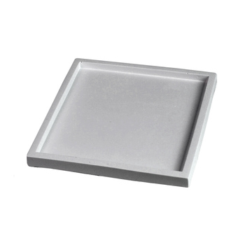 Square Concrete Plate Silicone Mold DIY Handmade Cement Tray Mould