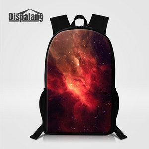 Mochilas Feminina Dispalang 3D Galaxy Universo Espaço Impressão ... 4c5b7dc6e4