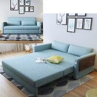 Льняная ткань из конопли секционный диван Гостиная комплект мебели из ротанга Алон диване puff asiento muebles де Сала канапе диван кровать Кама