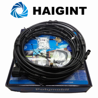 0258 Watering Irrigation Sprayers 15m Black Standard Portable Campsite Misting Kit