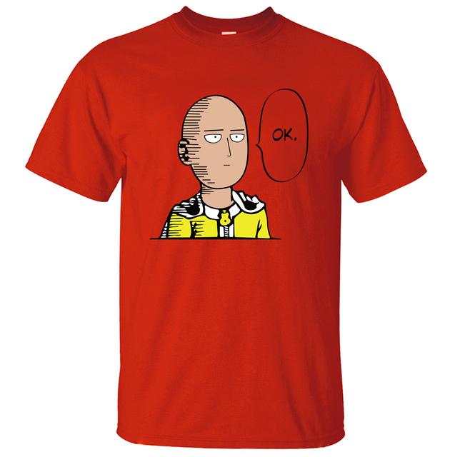 One Punch Man Saitama OK T-Shirt (8 Colors)