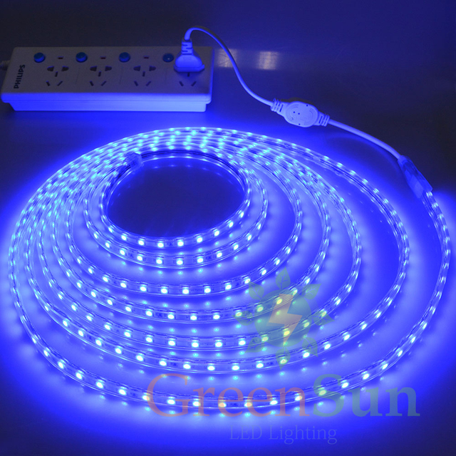 Blue color 20m 60 leds meter ultra bright 5050 smd led outdoor blue color 20m 60 leds meter ultra bright 5050 smd led outdoor garden home strip aloadofball Image collections