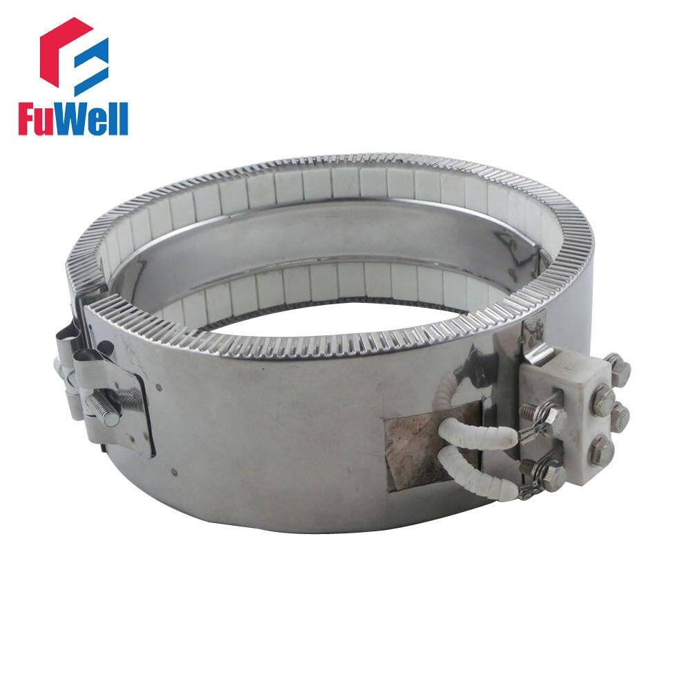 AC 220V 220 Voltage 1100W Ceramic Band Heater 80mmx90mm Heating Element