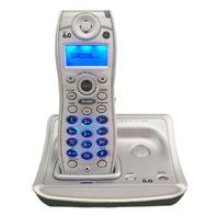 English Digital Cordless Wireless Telephone With Call ID Backlit Landline Phone For Office Home Bussiness White