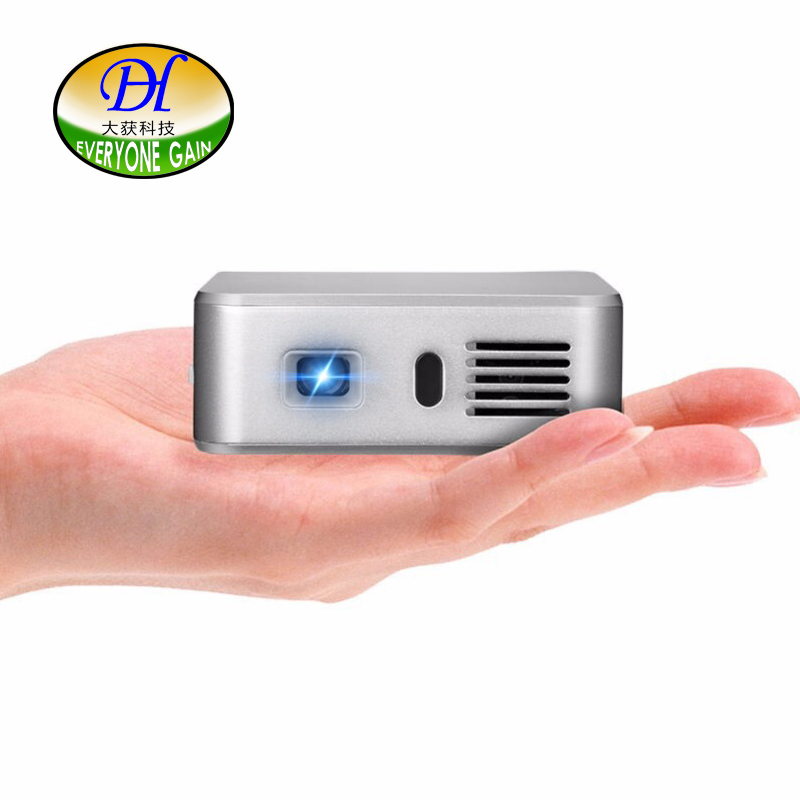 Everyone Gain A390 Smart pocket DLP projector build in android OS wifi bluetooth interactive projector 3000 MAH Video Projecteur