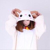 Super Soft Cute Sheep Cosplay Costume Pyjamas New Cartoon Onesies For Adult Women Men Winter Sleepwear