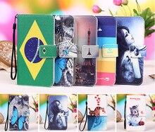 for 360 Qiku 808 Flip Wallet PU Leather Case for QIKU 360 Ultimate Snapdragon 808 6.0″ Phone cover case Bag + Tracking Number