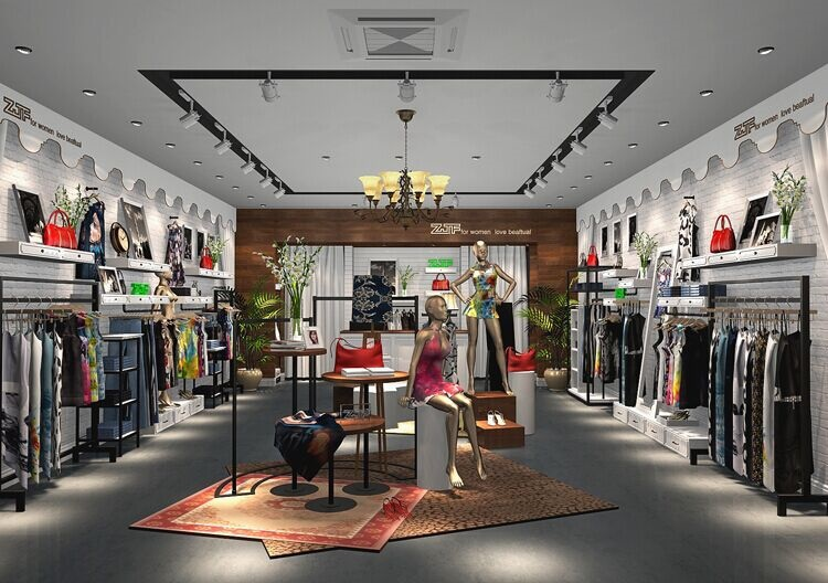 Shoes Store Display Furniture Shop Mdf Showcase Cloth