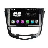 Четырехъядерный 10,1 Android 8,1 автомобильный dvd плеер для Nissan QashQai X Trail 2013 2018 автомобиль с радио, GPS, WiFi Bluetooth 2 Гб ram 16 Гб rom