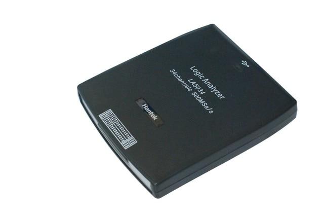 New Price Digital oscilloscope Hantek LA5034 PC USB Logic Analyzer 34CH Sample rate 500MHz Bandwidth 150MHz LA-5034