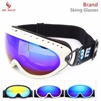 Snow Ski Goggles Men Over Glasses With Dual Anti Fog Anti UV Clear Lens Winter Sport