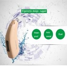 Высокая супер мощность цифровой BTE слуховой аппарат Siemens лотоса 12SP Обновлено весело SP сильный глубокий наушники глухих Прямая доставка