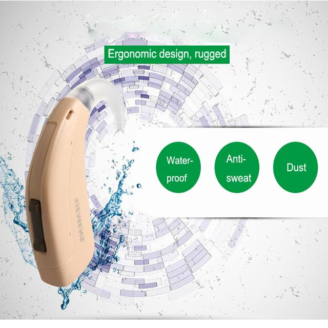 High Super Power Digital BTE Hearing Aid Aids Siemens LOTUS 12SP Updated Fun SP Severe profound Earphone Deaf Drop Shipping